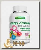 Витаминно-минеральный комплекс Mega Vitamins for Women