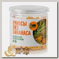 Натуральные чипсы из ананаса