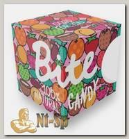 Батончики Bite Candy фруктово-ягодные pink box