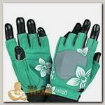 Перчатки женские Jungle MFG710 - серо-зеленые