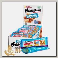 Батончики Bombbar Muesli 45 г