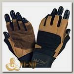 Перчатки с фиксатором запястья Professional MFG269 - черно-коричневые