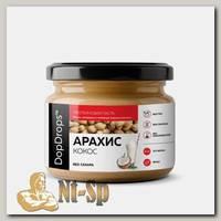 Протеиновая арахисовая паста с кокосом