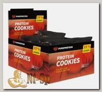 Высокобелковое печенье Protein Cookies Ассорти 80 г