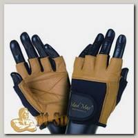 Перчатки Fitness MFG444 - черно-коричневые