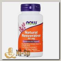 Natural Resveratrol 50 мг